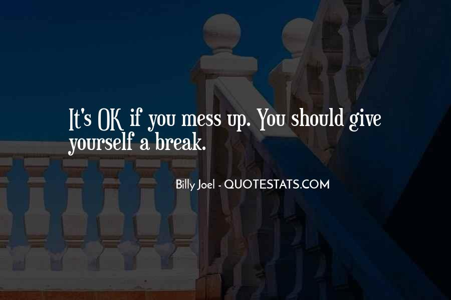 Quotes About Love After Break Ups #196372