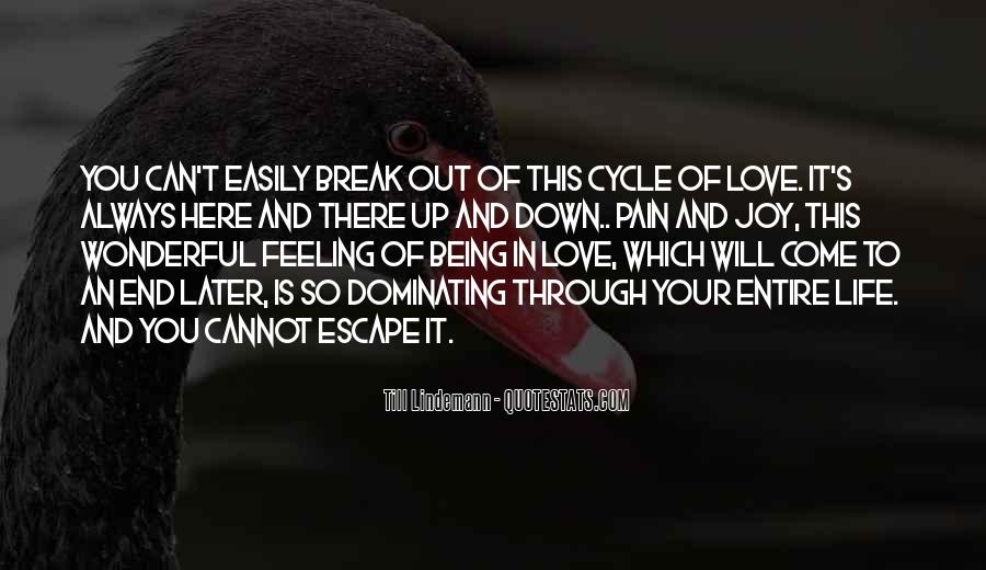 Quotes About Love After Break Ups #87222
