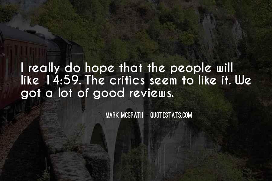 Mark Mcgrath Quotes #1142838