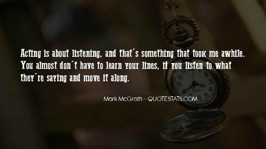 Mark Mcgrath Quotes #1157706