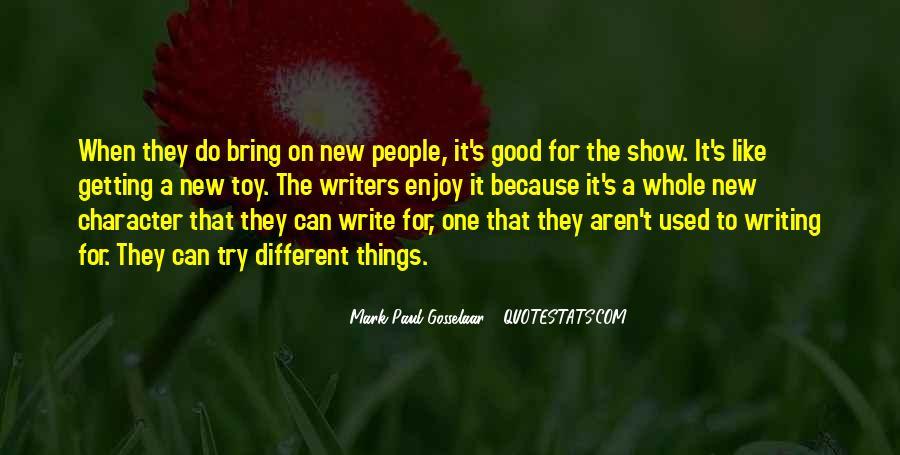 Mark Paul Gosselaar Quotes #1703338