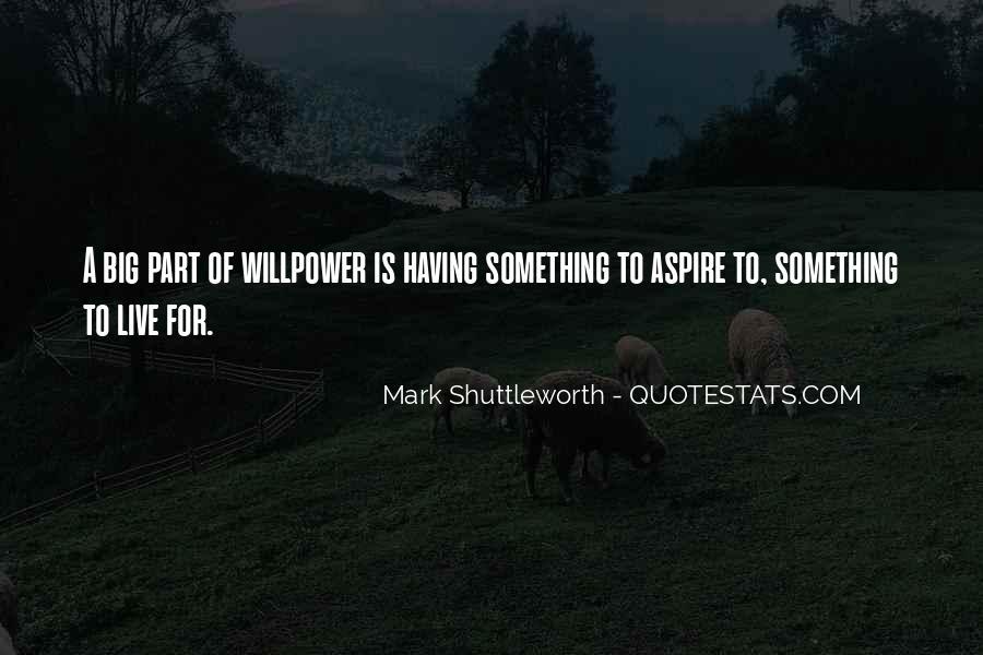 Mark Shuttleworth Quotes #616906