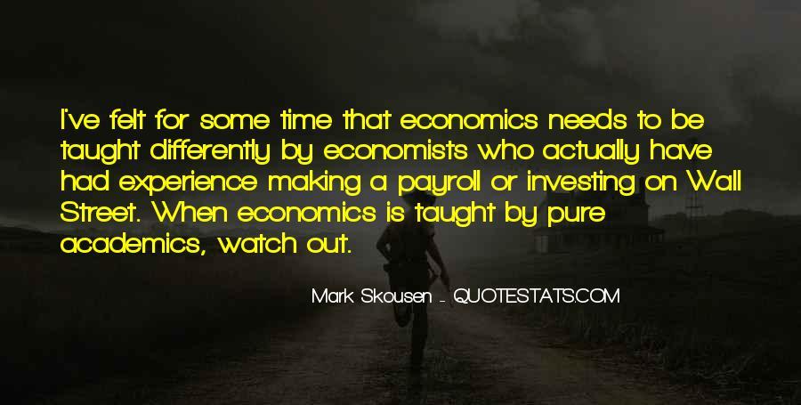 Mark Skousen Quotes #650845