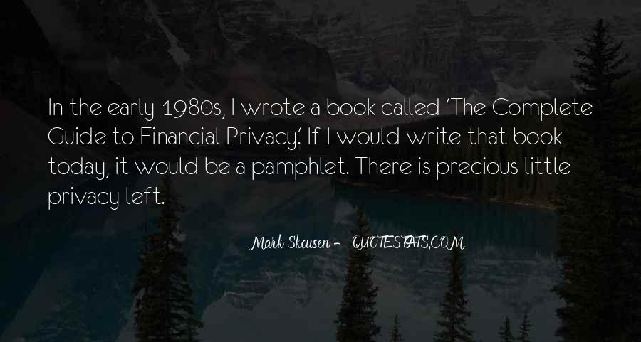 Mark Skousen Quotes #788442