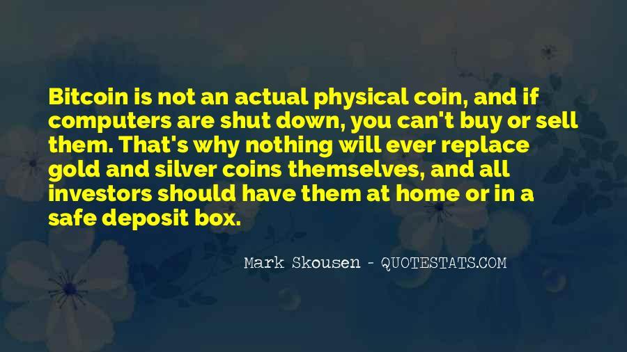 Mark Skousen Quotes #999833