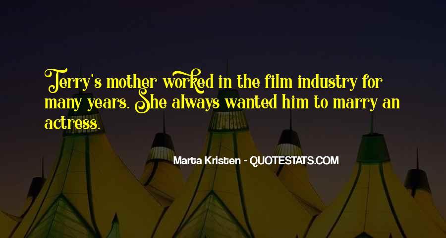 Marta Kristen Quotes #1385274