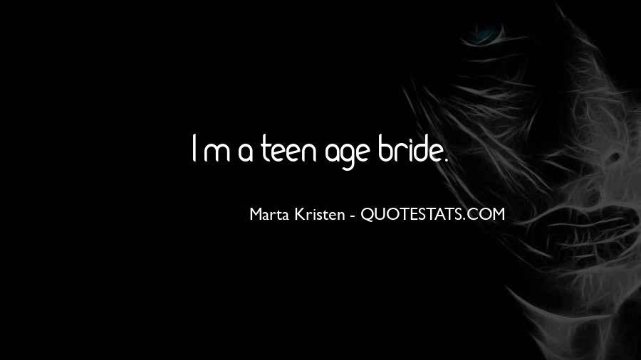 Marta Kristen Quotes #946803