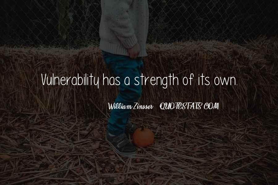 Quotes About Vulnerability #110889