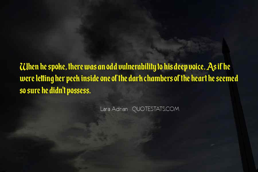 Quotes About Vulnerability #123596