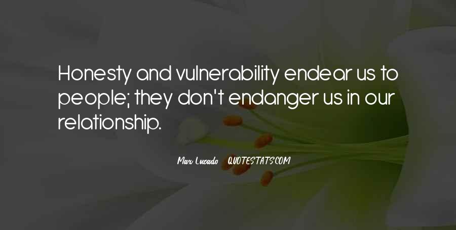 Quotes About Vulnerability #189865