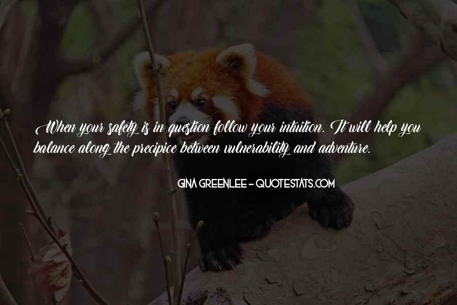 Quotes About Vulnerability #19163