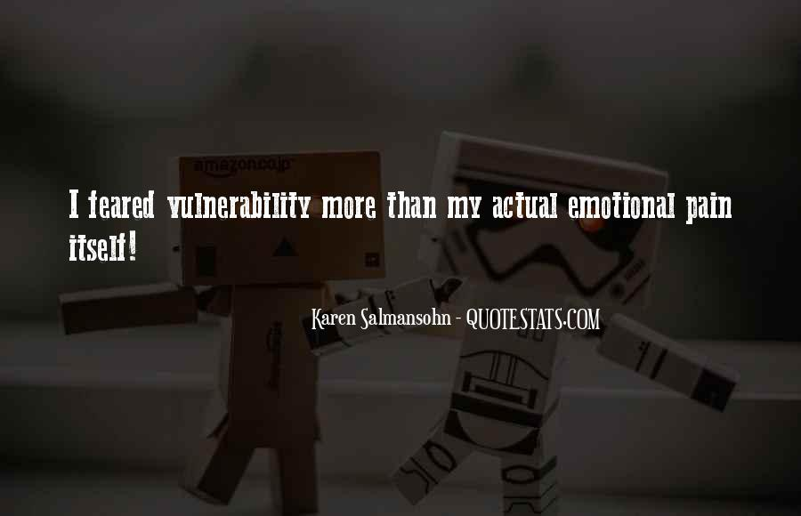 Quotes About Vulnerability #33015