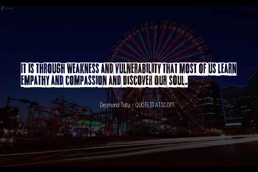 Quotes About Vulnerability #60937