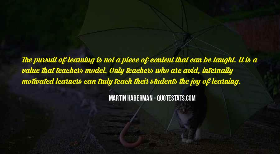 Martin Haberman Quotes #1325383
