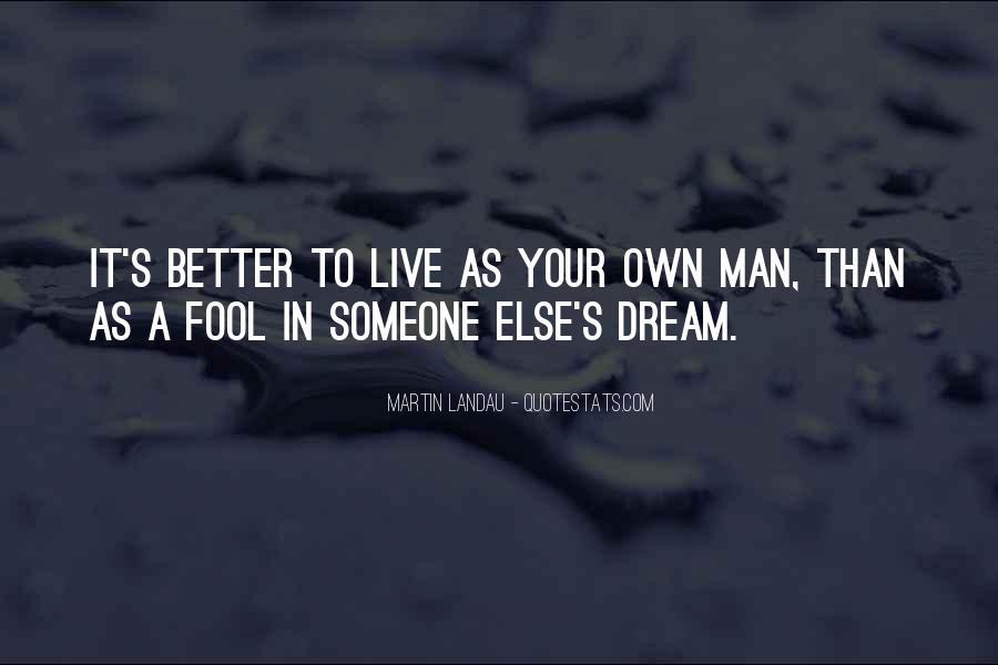 Martin Landau Quotes #1465074