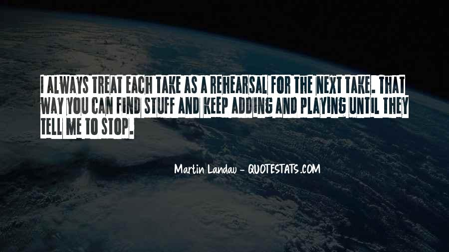 Martin Landau Quotes #273992