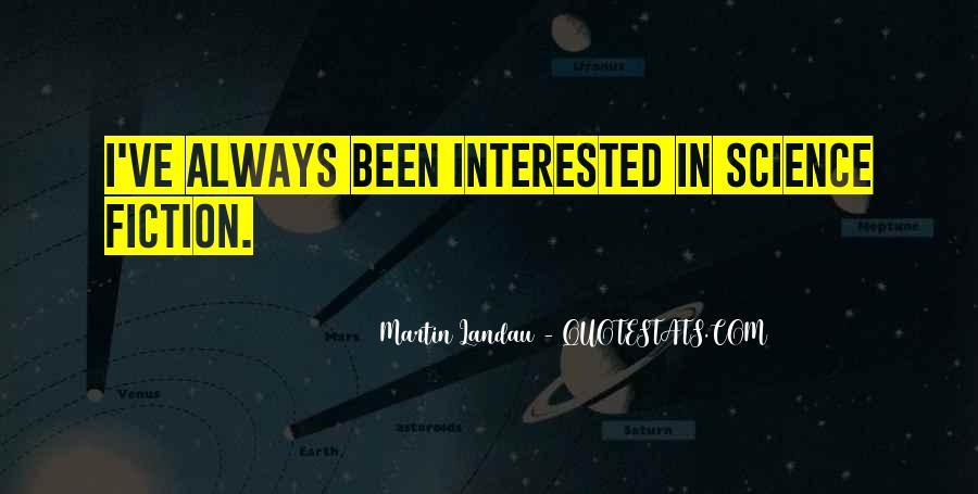 Martin Landau Quotes #416431
