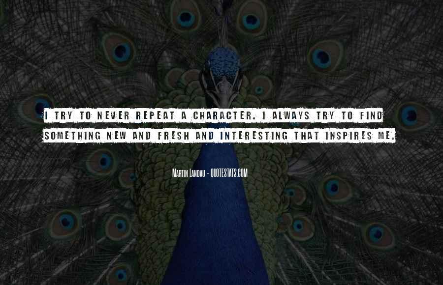 Martin Landau Quotes #5096