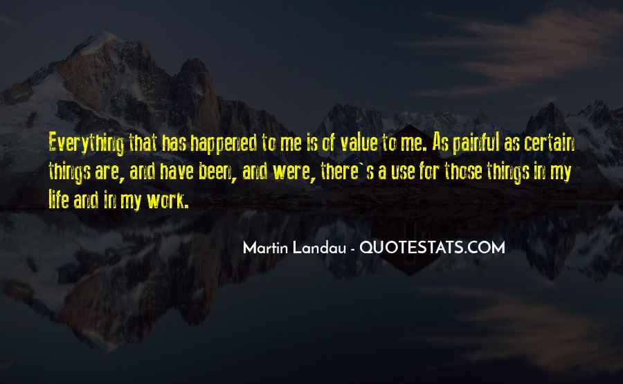 Martin Landau Quotes #832179