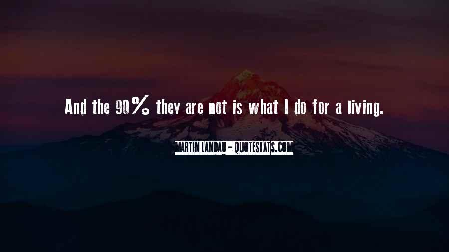 Martin Landau Quotes #915748