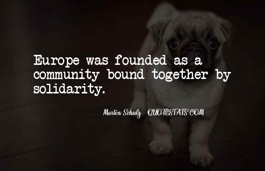 Martin Schulz Quotes #1563934