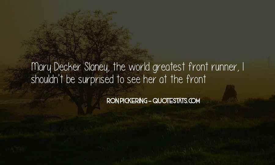Mary Decker Quotes #53843
