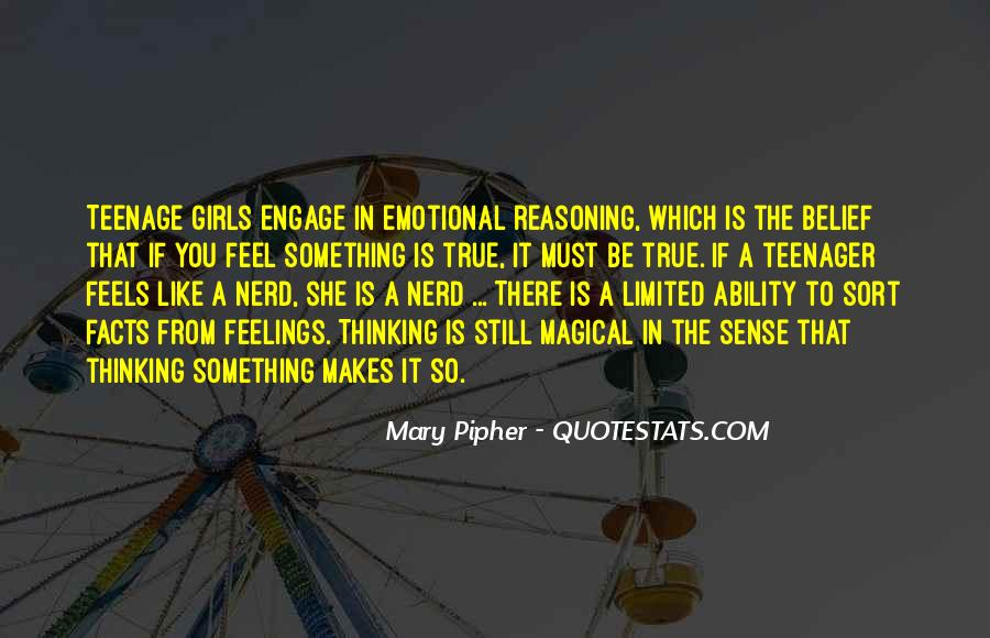 Mary Pipher Quotes #583546