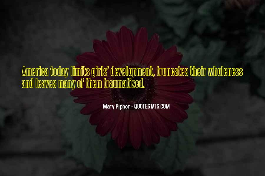 Mary Pipher Quotes #692592
