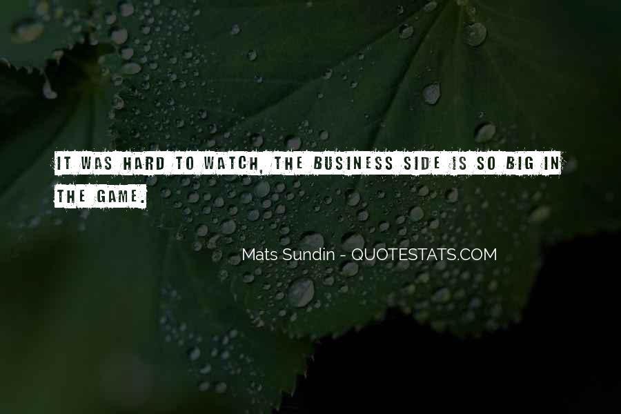 Mats Sundin Quotes #1640935