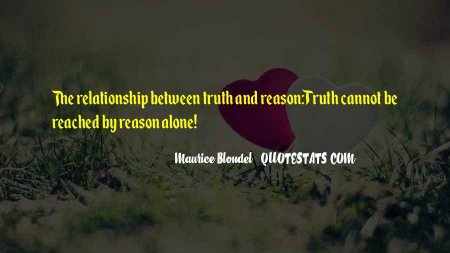 Maurice Blondel Quotes #966537
