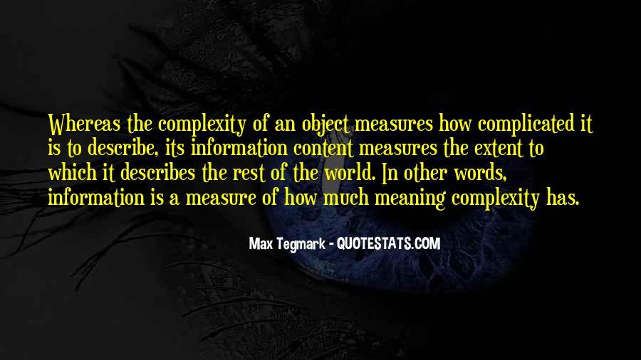 Max Tegmark Quotes #1236855
