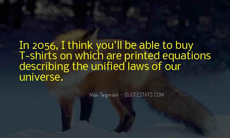 Max Tegmark Quotes #156951