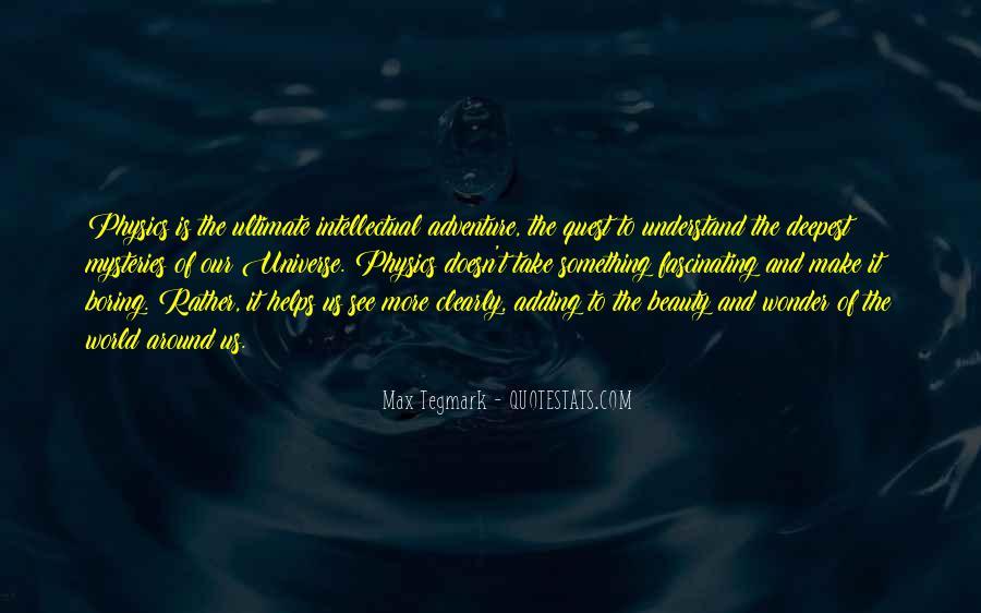Max Tegmark Quotes #639861