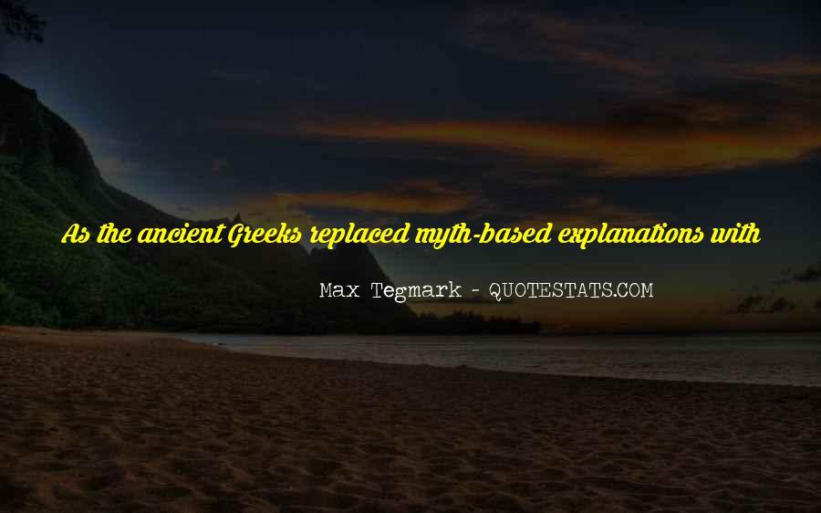 Max Tegmark Quotes #739849