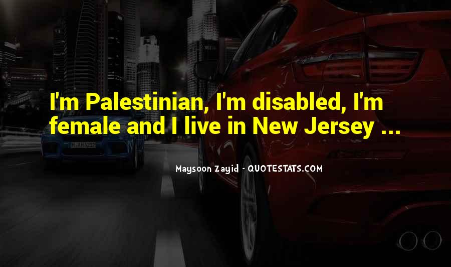 Maysoon Zayid Quotes #78832
