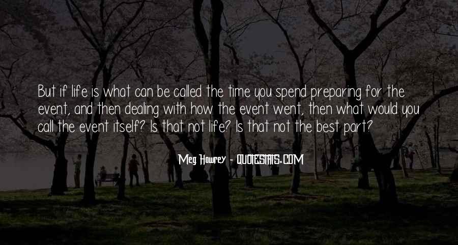 Meg Howrey Quotes #1568953