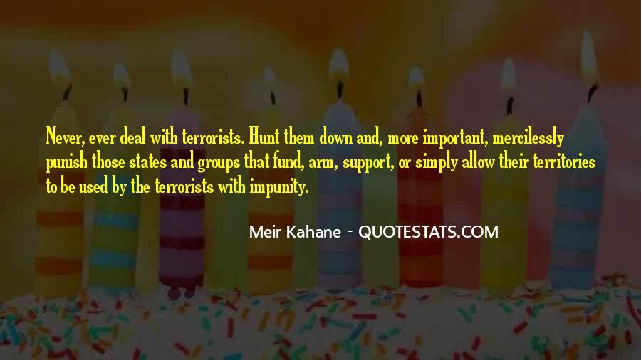 Meir Kahane Quotes #1739091