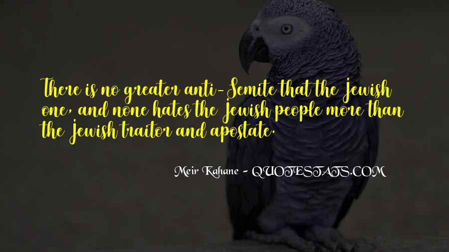 Meir Kahane Quotes #248359