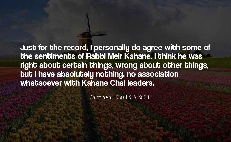 Meir Kahane Quotes #381118