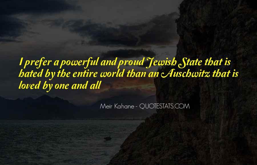Meir Kahane Quotes #471921