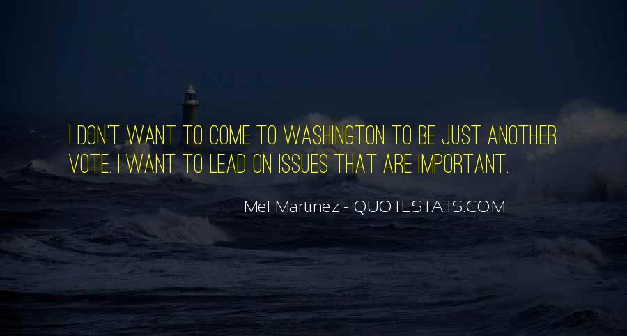 Mel Martinez Quotes #1748418