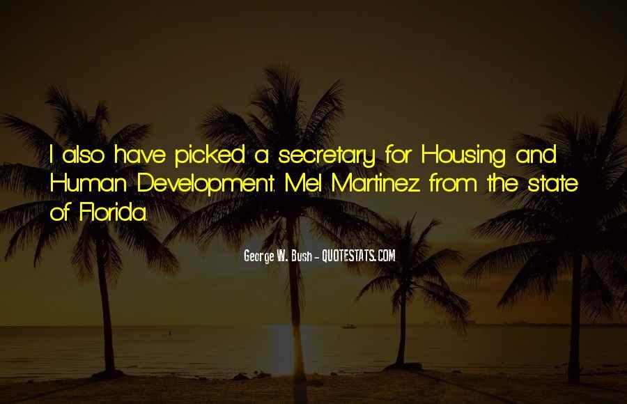 Mel Martinez Quotes #211774