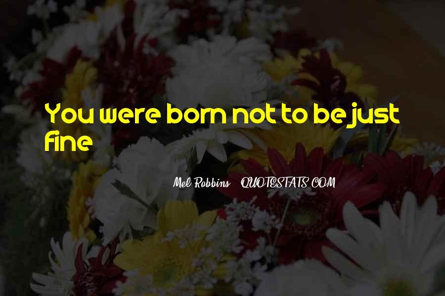 Mel Robbins Quotes #107891