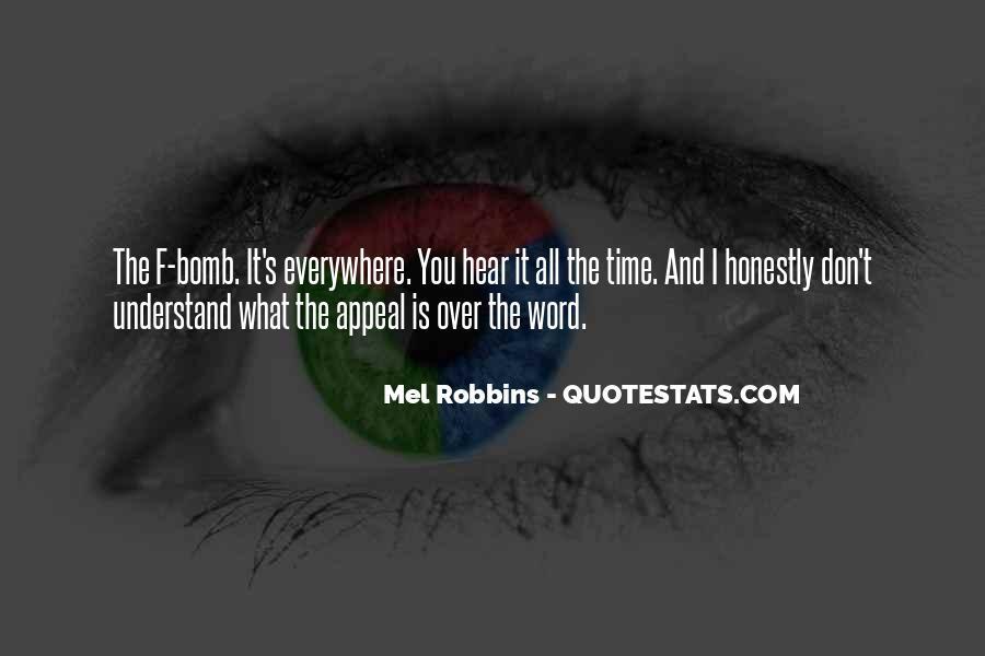 Mel Robbins Quotes #1679520