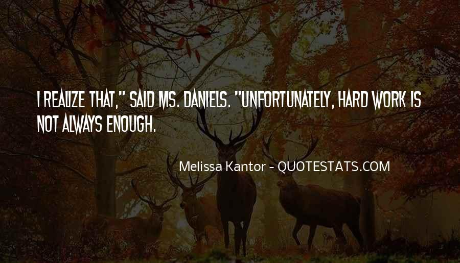 Melissa Kantor Quotes #951640
