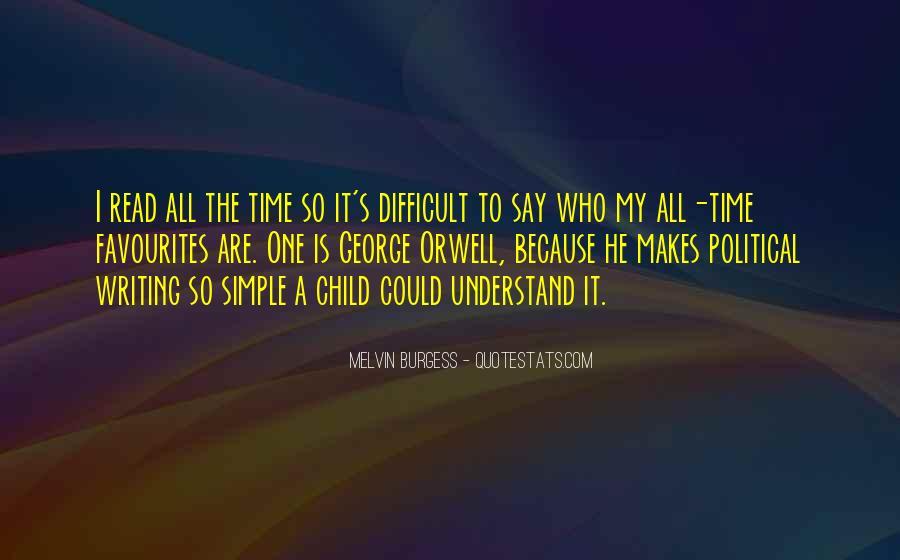 Melvin Burgess Quotes #1134605