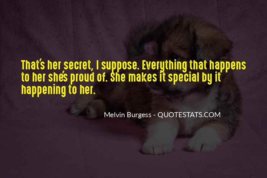 Melvin Burgess Quotes #1251757
