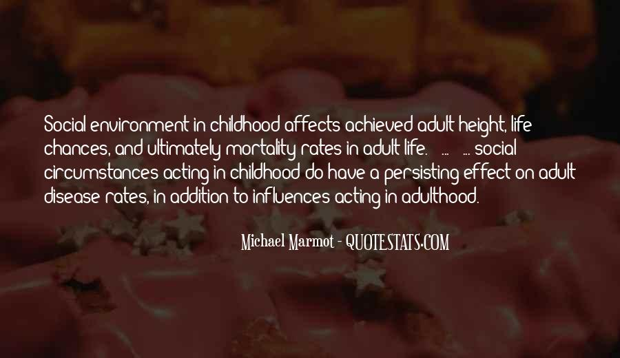 Michael Marmot Quotes #466716