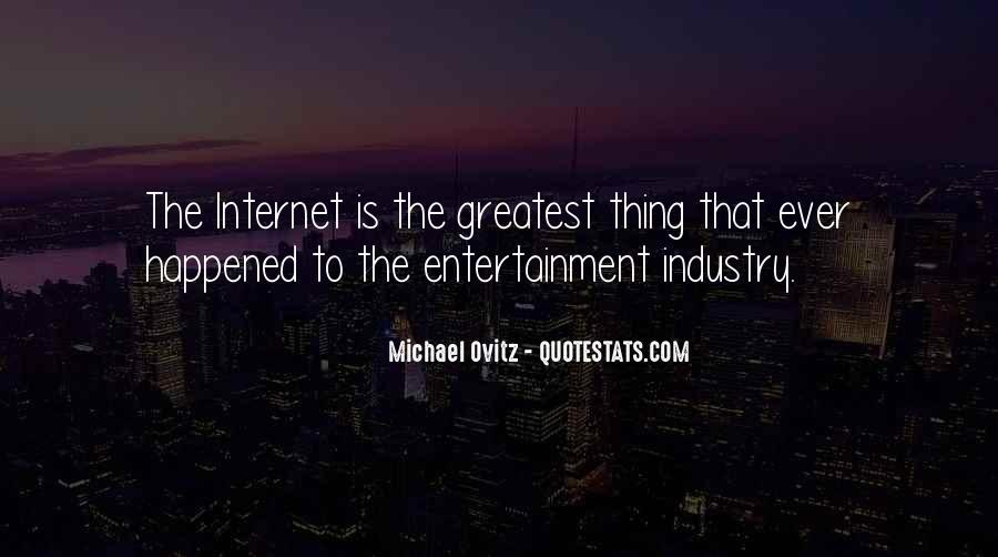 Michael Ovitz Quotes #1244979