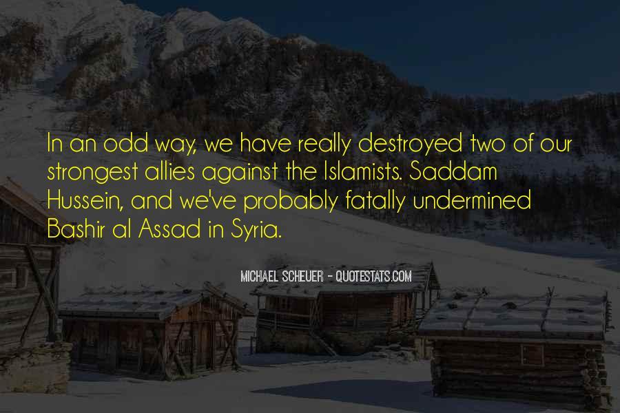 Michael Scheuer Quotes #153782